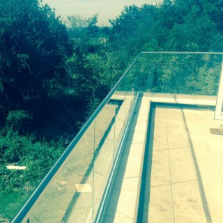 Balustrades with caprail