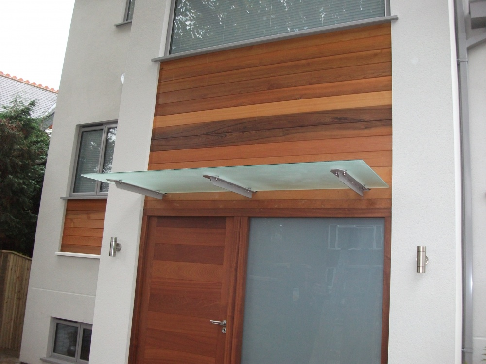 Balcony With Glass Panel