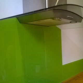 Shaped Splashback