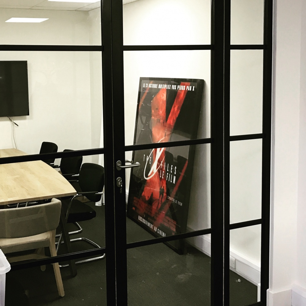 New - Crittall Style Glass Paritions & Doors! - Hallmark