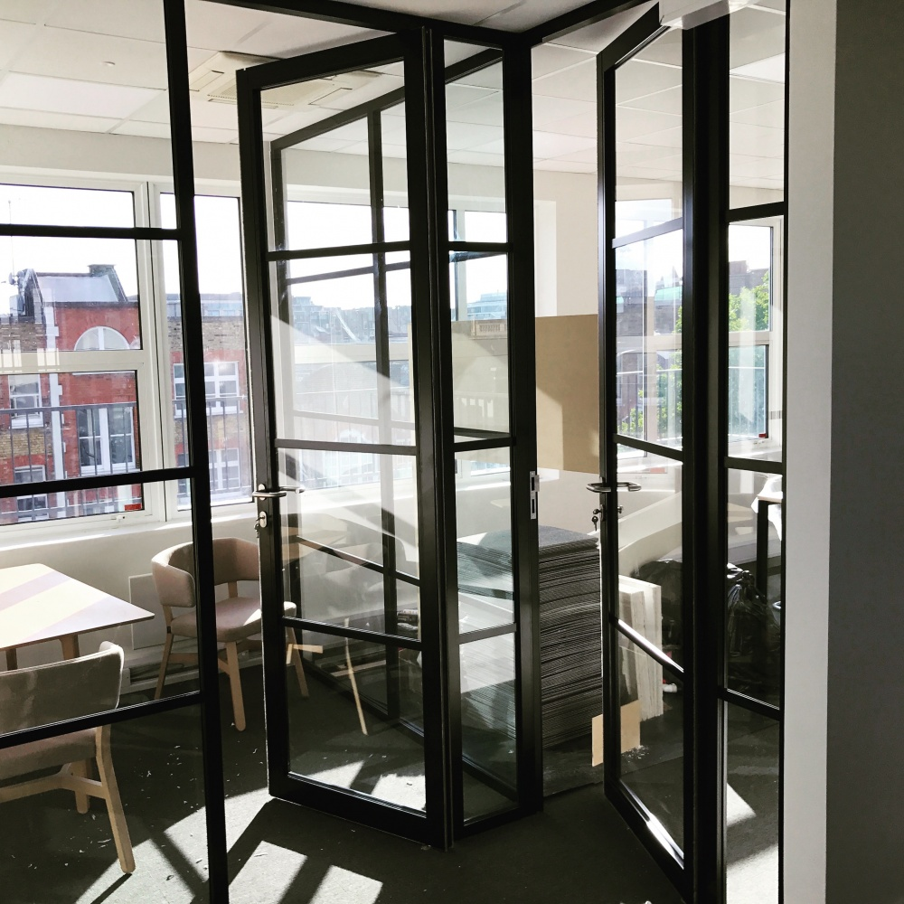 New Crittall Style Glass Paritions Amp Doors Hallmark