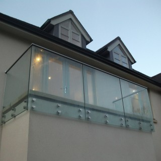 External Balustrades Point Fixings