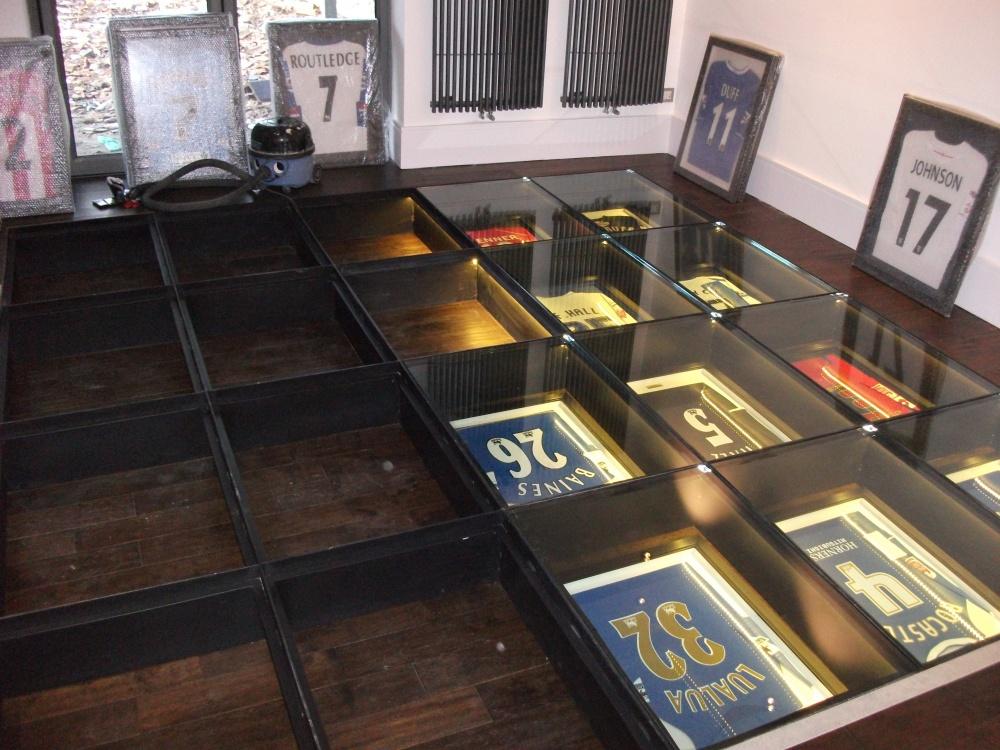 Glass Floor Frame In Progress