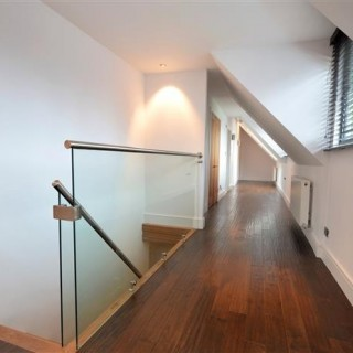 Internal Balustrades in Hallway