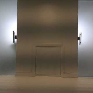 Sandblasted Glass Doors