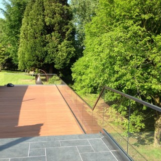 glass balustrades external