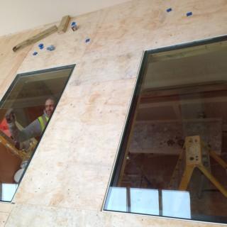 glass floor panels