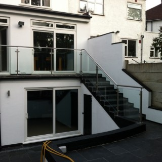 Glass & Newel Post system
